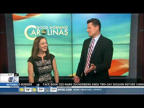 Amanda Live at Wonderworks - Good Morning Carolinas - WPDE ABC 15