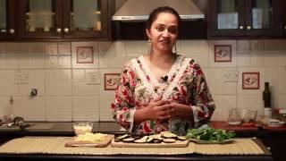 Video Recipe: Roasted Eggplant Parmigiana In Tomato Basil Sauce