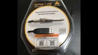BEHRINGER / GUITAR 2 USB