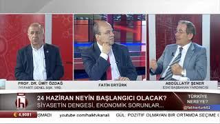 Abdüllatif Şener'den çok konuşulacak iddia: Abdullah Gül'ü Erdoğan sahaya sürdü