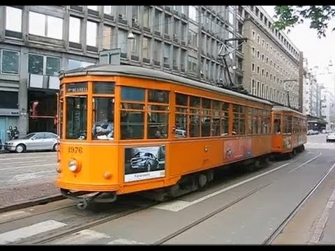 Italy: Vintage trams in Milan