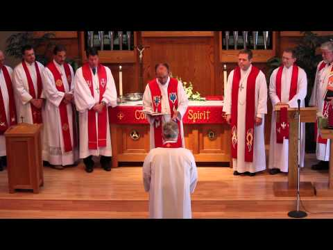 Pastor Weiser's Commissioning Service