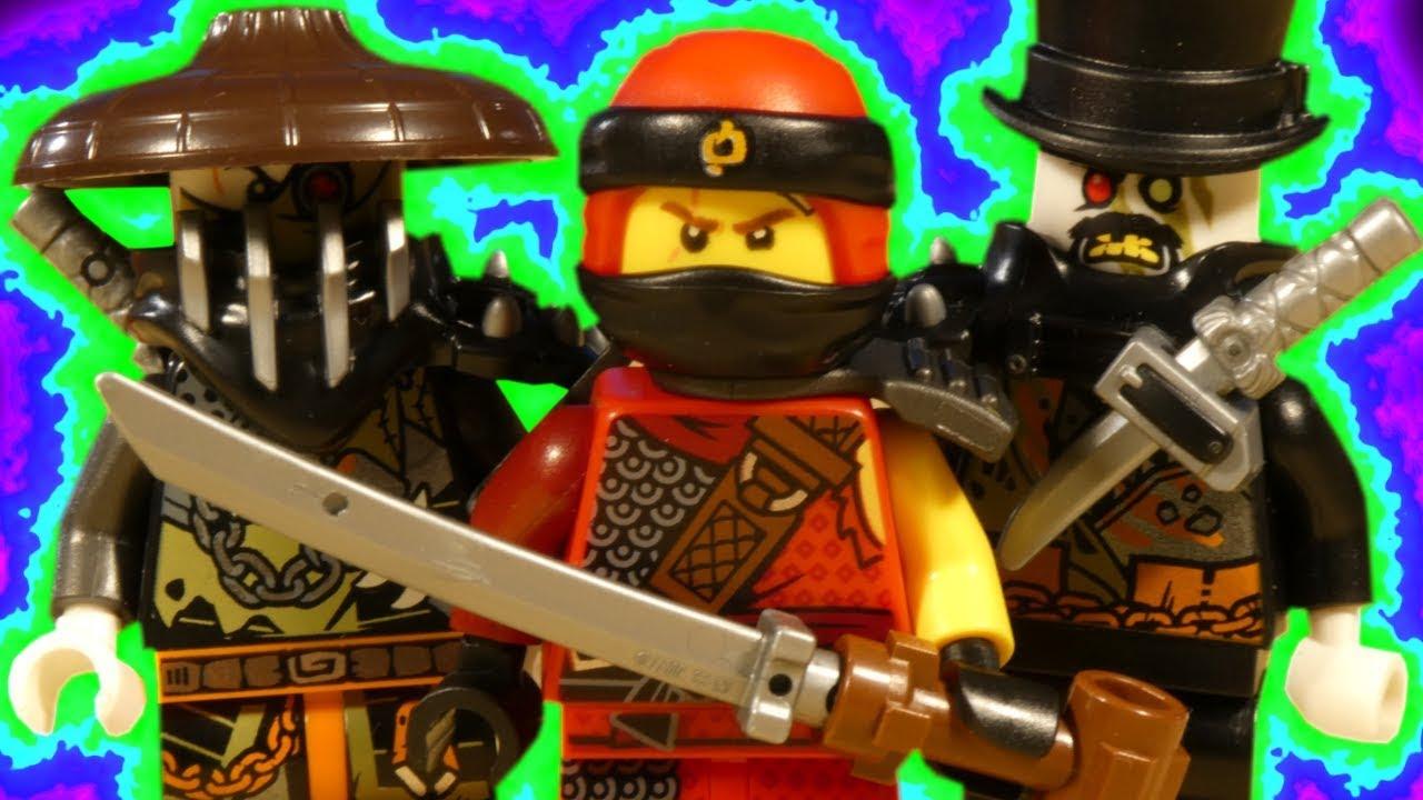 LEGO NINJAGO HUNTED - KAI VS DRAGON HUNTERS