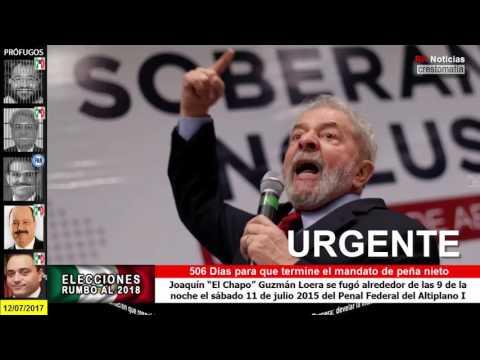 Luiz Inácio Lula da Silva, condenado a 9 años y medio de prisión