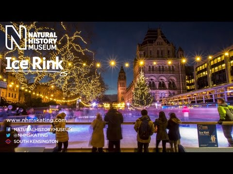 Ice Rink at the Natural History Museum, London