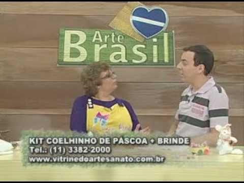 ARTE BRASIL -- LILIANA QUINTERO -- COELHINHO CARROCEIRO DE FUXICO (10/02/2011 - Parte 2 de 2)