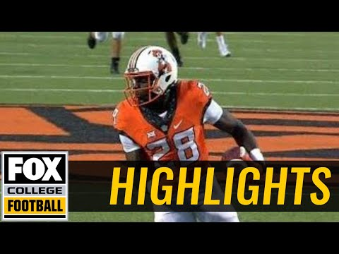 Tulsa vs Oklahoma State | Highlights | FOX COLLEGE FOOTBALL