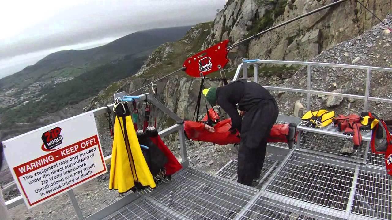 Zip World, The Longest Zip Line in Europe... 29th June 2013 - YouTube