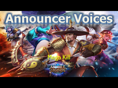 Mobile Legends: New Announcer Voices