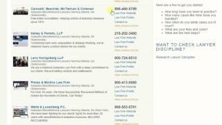 Atlanta asbestos lawyers