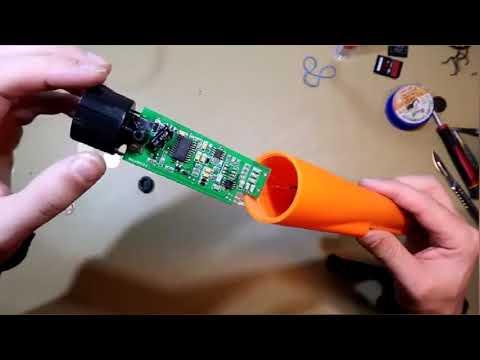 Pinpointer metal detector