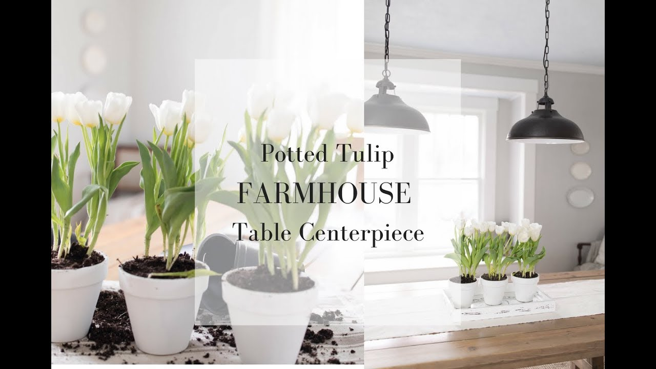 FARMHOUSE TABLE CENTERPIECE