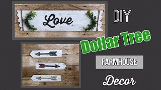 Dollar Tree DIY | Farmhouse Decor