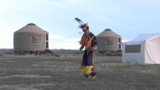 Native American Dancers on American Prairie Reserve
