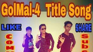 GOLMAL 4 Title Track DANCE Choreography RAJA KHAN