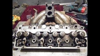 Ремонт головки УАЗ буханка (снятие, ремонт, установка)
