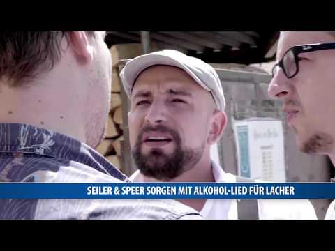 Seiler & Speer sorgen mit Alkohol-Lied für Lacher