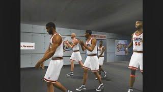NBA Live 2002 - Bucks vs Sixers