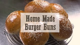 Home made burgers buns - Cooking tutorial
