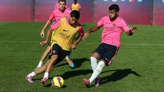 Training session (22/10/14): Preparations for the Clásico