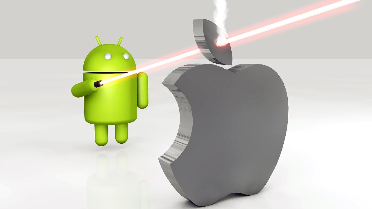 Android vs Apple (IOS) Who is the Best 2017 - YouTube