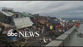 Typhoon Kammuri In Philippines Rips Through Coastal Town L Abc News