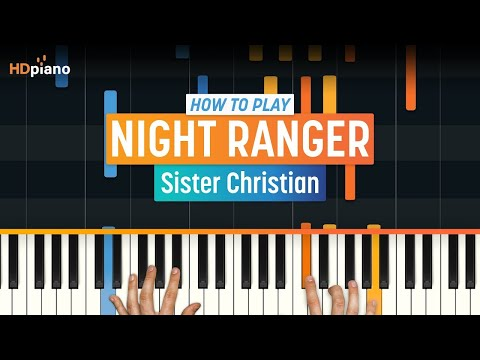 """How To Play """"Sister Christian"""" by Night Ranger 