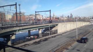 new jersey transit hudson bergen light rail newport to hoboken