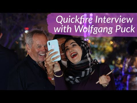 Quickfire Interview With Wolfgang Puck & Bahraini Stews | What I Eat #61