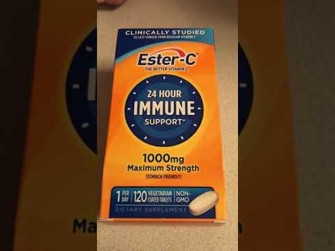 Обзор витамин Ester-C