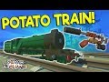 SPUD POWERED TRAIN, CARS & MORE! - Scrap...mp3