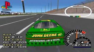 NASCAR 2000 (PS1 Gameplay)
