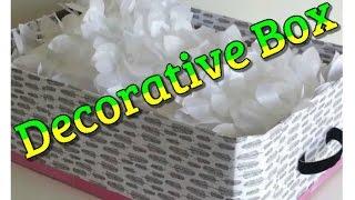 {diy} Cardboard Box Transformation