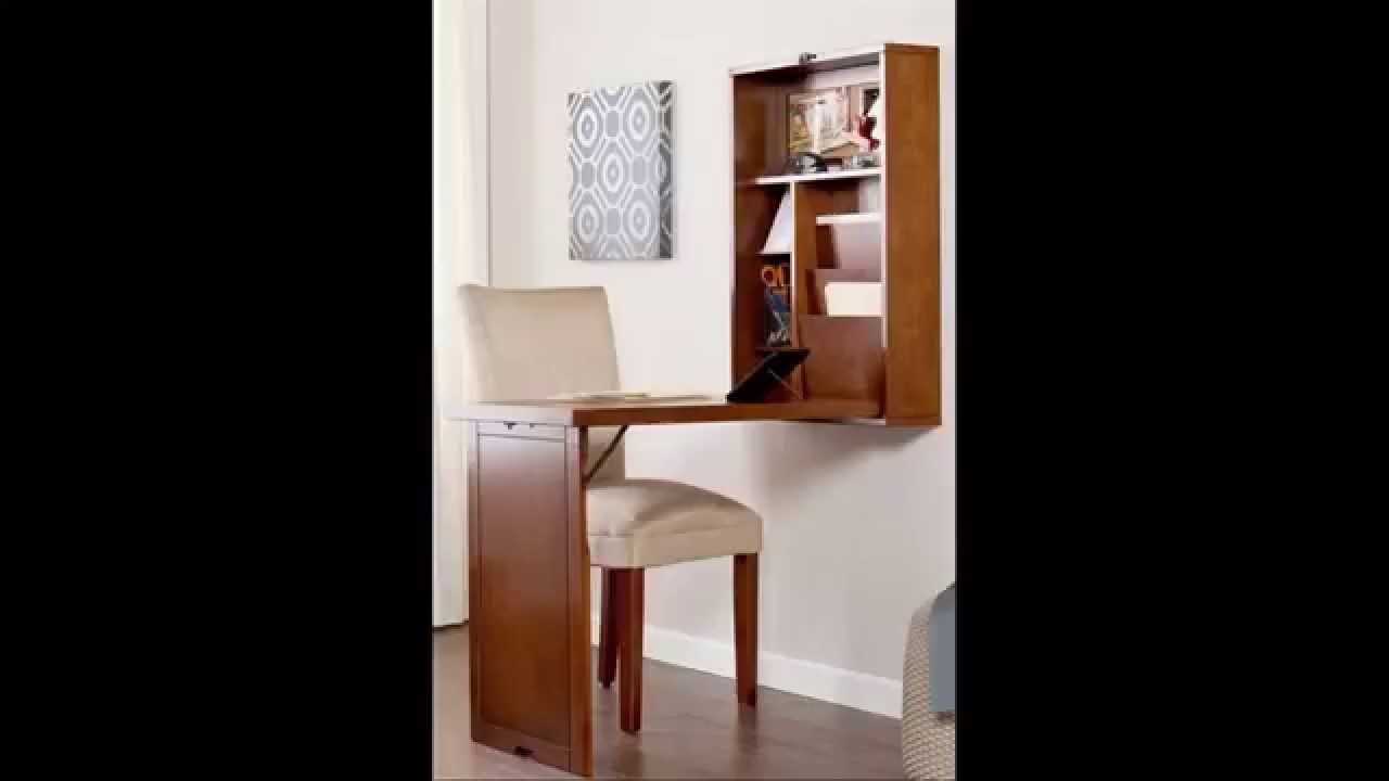 Fold Out Convertible Desk - Wall Mounted Folding Table ...