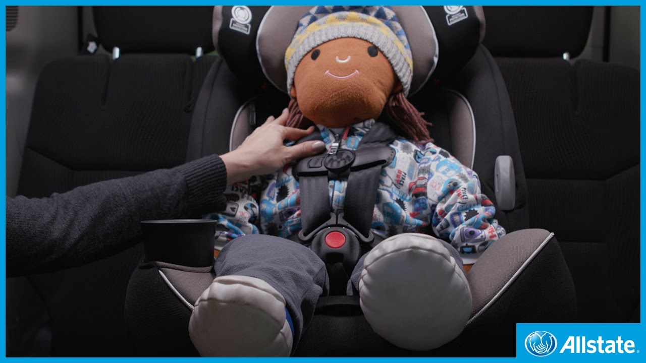 8146f6a72 How to dress your child for their car seat in winter - YouTube