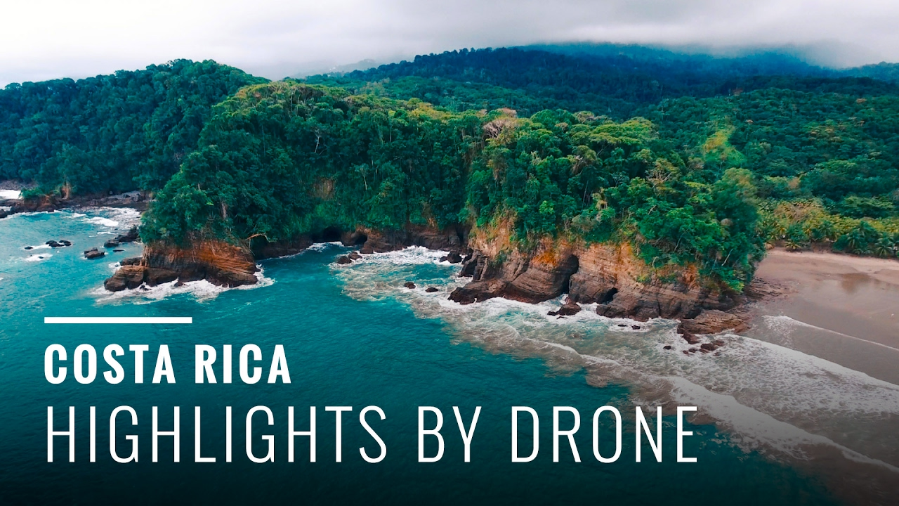 Best Beaches In Costa Rica Drone Highlights