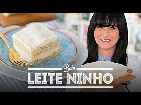 BOLO DE LEITE NINHO GELADO E SUPER MOLHADINHO | DANI NOCE
