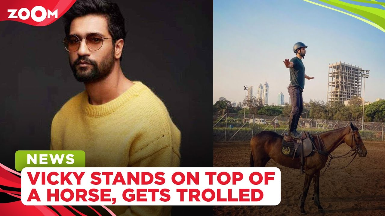 Vicky Kaushal shares a glimpse from horse riding training, gets brutally trolled by netizens