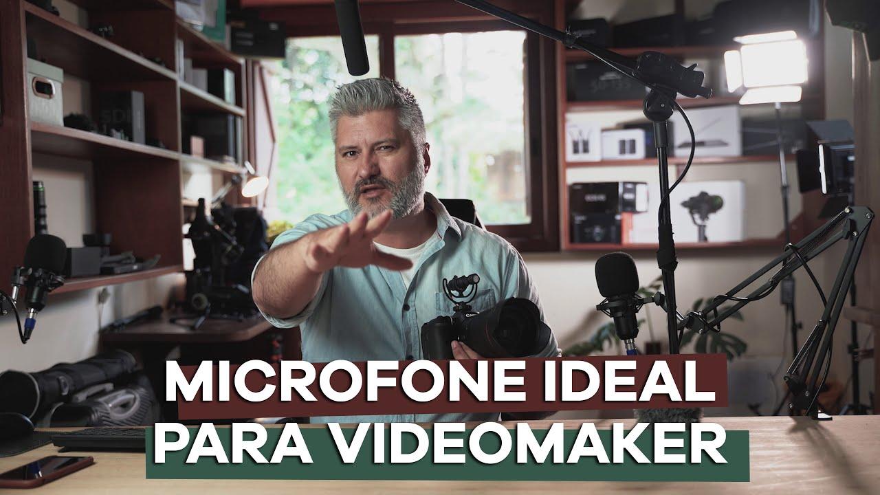 MICROFONE IDEAL PARA VIDEOMAKER