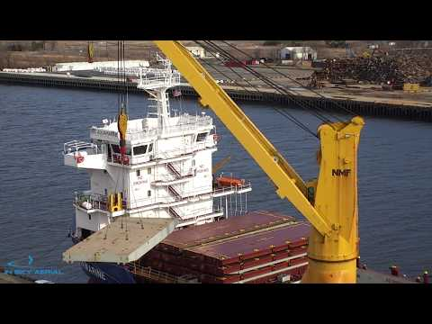 Matrice 210 with Z30 -- Cargo Ship Inspection Video