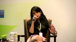 Maudy Ayunda as Speaker on the Global Media Forum: on Social Development through the Social Media
