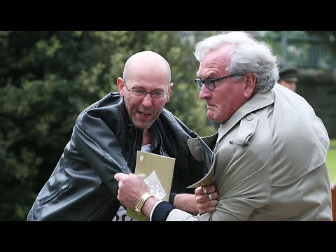 Canadian Ambassador Kevin Vickers tackles protester at Ireland remembrance ceremony