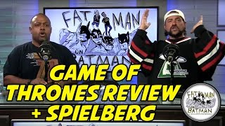 GAME OF THRONES REVIEW + SPIELBERG