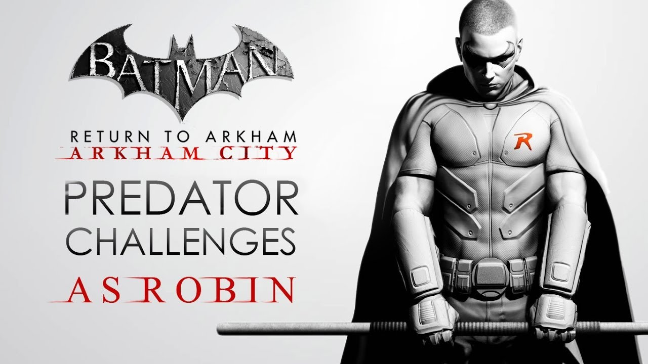 Batman: Arkham Origins – Predator Challenge Maps (As ...