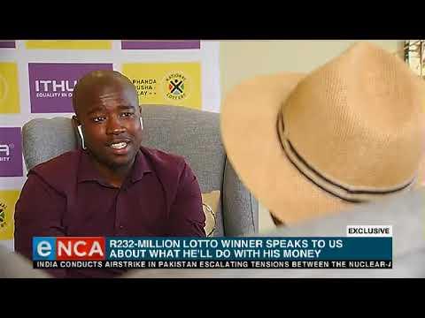 EXCLUSIVE: SA's Powerball winner speaks to eNCA