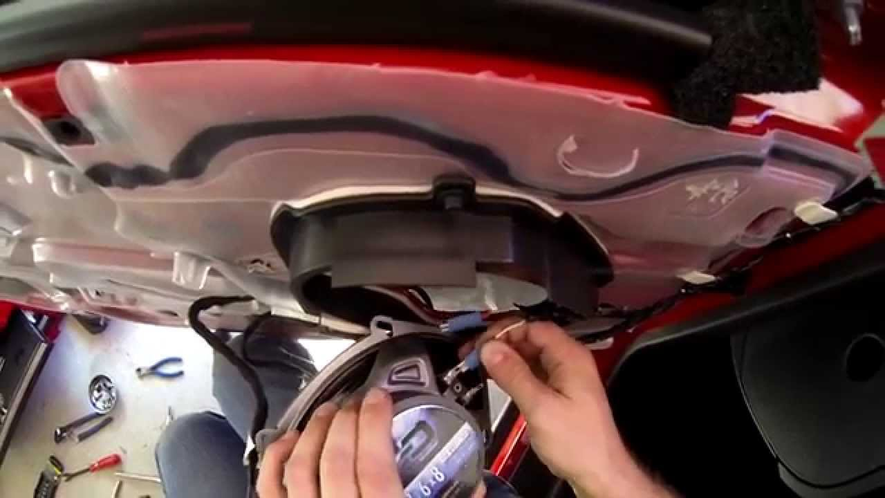 How To Install The Front 5x7 Door Speakers On A Ford