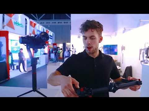 MOZA Air - Mimic Motion Control at the IBC 2017 Show