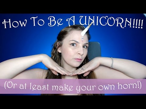Diy Unicorn Horn for Cosplay Or Halloween Costumes!