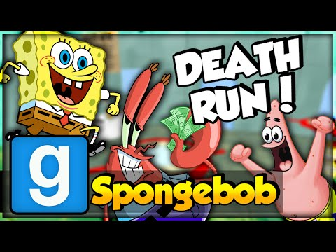 SpongeBob! (GMod Death Run) #1