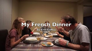 5 Course French Meal Project